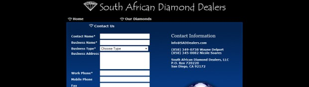 south african diamond dealers